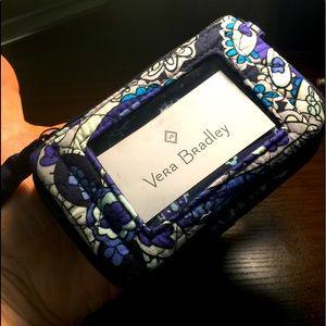 New Vera Bradley ID - Key Ring - Coin purse